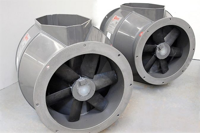 B-Series Bifurcated Fans - Bifurcated axial flow fans manufactured in the UK