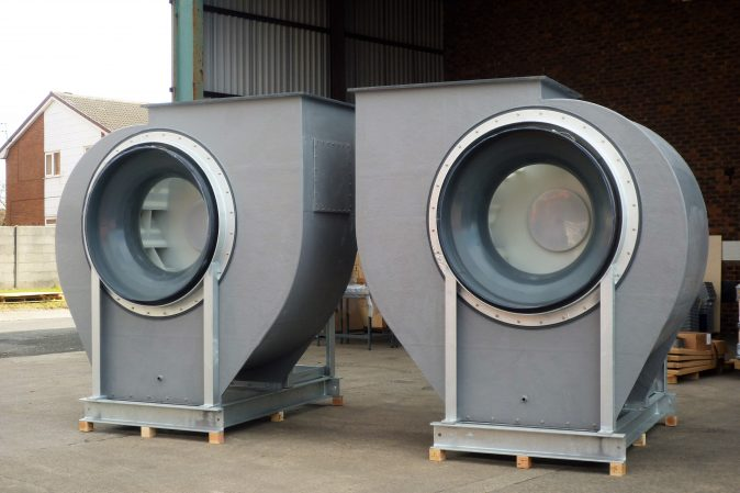 BI-Series Centrifugal Fans - High efficiency backward inclined centrifugal fans