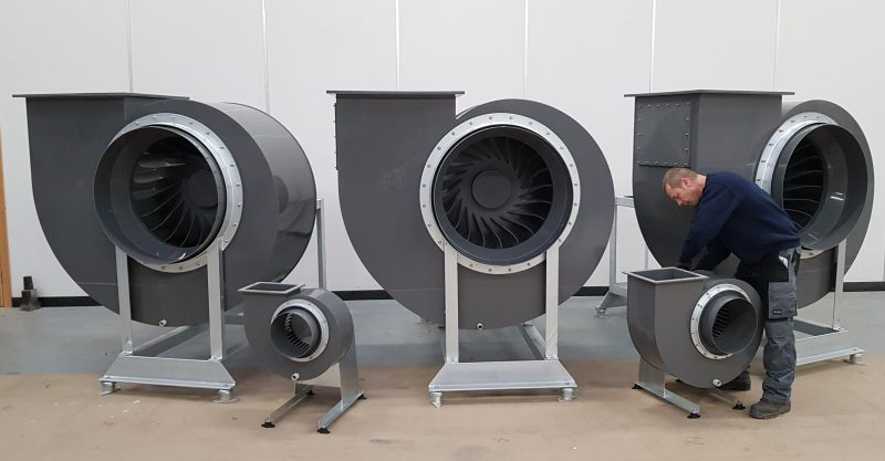 Heavy duty fan, plastic fan, polypropylene fan, industrial fans