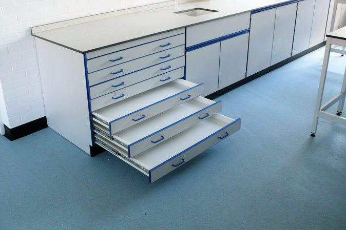 School art room furniture - plan chest