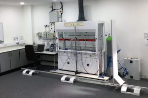 Type-testing fume cupboards at APMG