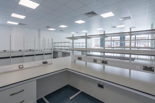 Immunotec lab furniture, Milton Park, science park