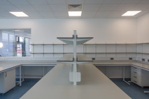 Research lab, reagent shelving, science park lab furniture